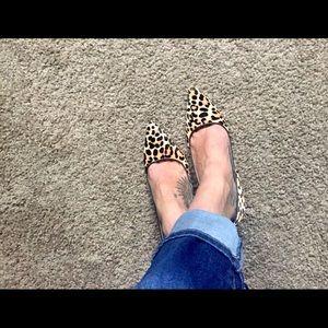 Charles David Leopard Heels